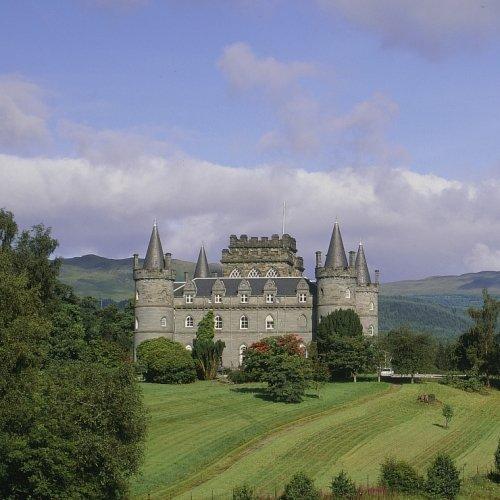 Inveraray Castle and Loch Lomond