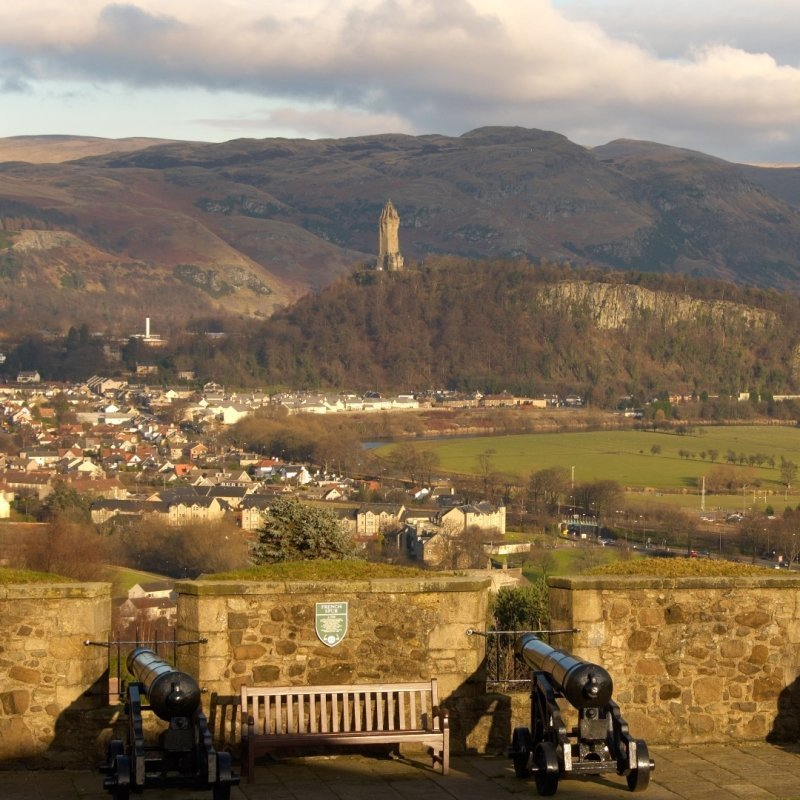 Stirling Castle, Wallace Monument & The Trossachs